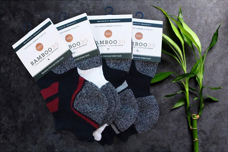 Bamboo Charcoal ankle socks