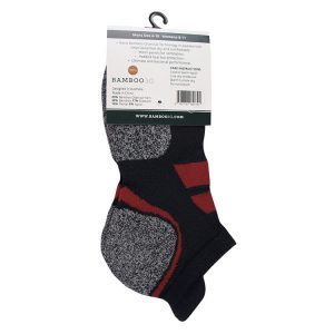 Bamboo charcoal ankle socks