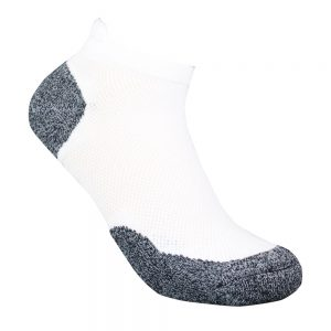 Bamboo charcoal ankle sock white