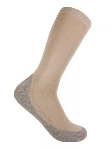 Bamboo charcoal business sock bone