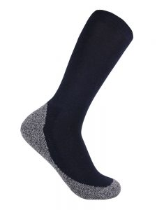 Bamboo charcoal business sock navy