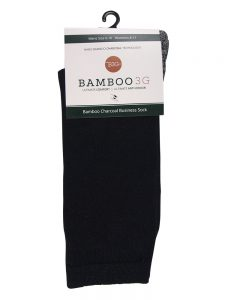 Bamboo charcoal business socks