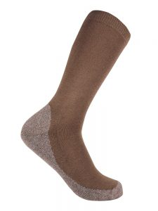 Bamboo charcoal business sock walnut