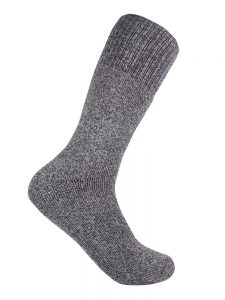 Bamboo charcoal trekking sock chocolate
