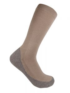 Bamboo charcoal health sock bone