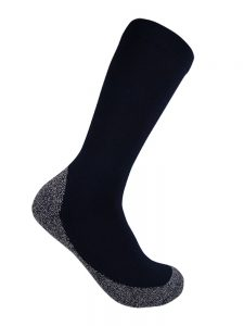 Bamboo charcoal health sock navy