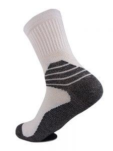 Performance sock all white
