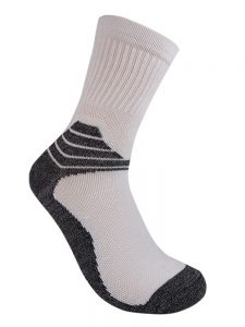 Performance sock all white