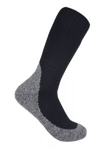 Thick work sock black