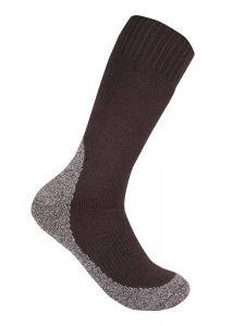 Thick work sock chocolate