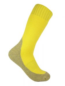 Thick work sock lemon