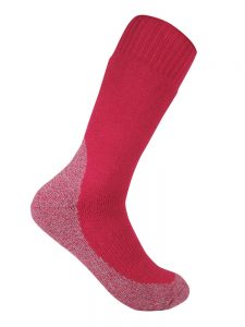 Thick work sock pink