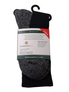 2-pack yarn work socks