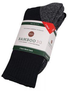 2-pack yarn work socks